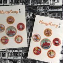 【香港☆Special Lapel badge】個性胸章 / 缶バッジ6個set