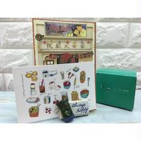 【香港☆HongKong Post】Ceramic Posting Box Name Card Holder  / ネームカード入れ