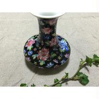 【香港☆中国景徳鎮】シノワズリフラワー  花瓶 / 玄関などに飾っても素敵です