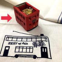 【城市交通工具膠台】香港電車 Tape  Dispenser
