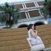 【香港☆Cuisine】トートバッグ(ファスナー付)/ 粥面・波蘿油・燒味