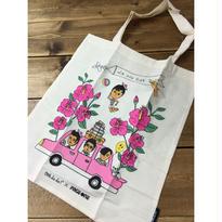<SALE>【躍雨士多☆Korea】Ooh La La!×PAGE ONE Tote Bag  / トートバッグ