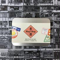 【香港☆HK Style Tag】行李貼吊牌組 / タグ&ステッカーset