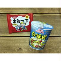 【香港☆NISSIN POSTCARD】出前一丁・合味道CUP NOODLES / 2種類・日清食品