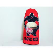 【香港☆G.O.D.】 I LOVE RICE 鍋つかみ / お料理も楽しく♪ミトン