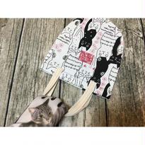 ☆Handmade☆【猫】  ちいさなハンドバッグ  No.71122