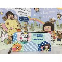 【香港☆Chocolate Rain】 FatinaWallet 長財布  / 金運アップ!春(張る)に買い替えおすすめ!