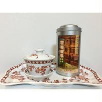 【香港☆粵東磁廠】手書き「コーラル・クレスト」ティーカップ  / Yuet Tung China Works