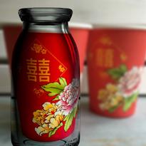 【香港☆紙杯】紅雙囍系列  /  25個入り 華やかです!!箱入り