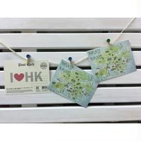 【香港☆I♥HK】(おすすめ)明信片・POST CARD  /  イラストが可愛い!!