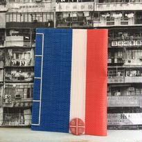 【香港☆紅白藍330】  ノート&缶バッジ