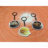 ☆Handmade☆【DIM SUM】 飲茶・菠蘿油のキーホルダー  / 3種類