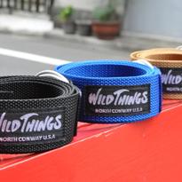 【WILD THINGS】W-RING WEBBING BELT
