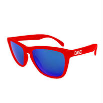 【DANG SHADES】Gloss Red X Blue Mirror