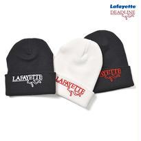 【LAFAYETTE】Lafayette × DEADLINE CAPSULE COLLECTION CHALK LINE LOGO KNIT CAP