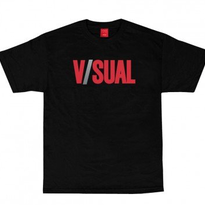 【VISUAL】TWO TONE LOGO TEE