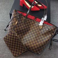 Louis Vuitton ルイヴィトン トートバッグポーチ付 ネヴァーフルMM ☆モノグラム☆  高級品 40996