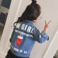 【予約】kids☻ denim jacket