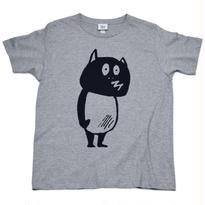 河童の三平 たぬき T-Shirts(特製タグ付) Color グレー