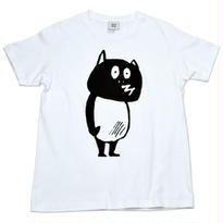 河童の三平 たぬき T-Shirts(特製タグ付) Color  ホワイト