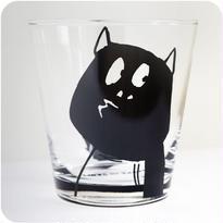 河童の三平タンブラーグラス(しっぽ)