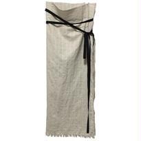 Linen 2way skirt