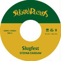"[SG-033] STEPAK-TAKRAW - Slug Fest / Yellow & Green (7"" Vinyl)"