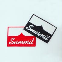 SUMMIT Logo ・シニール刺繍製コースター