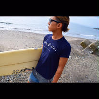 STAY GOLD_California ロゴTシャツ Navy