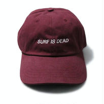 SURF IS DEAD ASLEEP HAT <Burgundy> サーフイズデッド