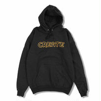 CREATE Wobble Hoodie (Black)