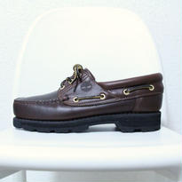 Timberland Black Sole Deck Shoes <Brown> ティンバーランド