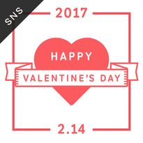 SNS素材|2サイズセット バレンタインデー [B-01]