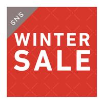 SNS素材|2サイズセット 冬セール[ A ]