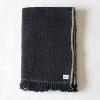 Gara-bou Blanket Stole 90×190cm (Midnight)