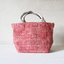 Gara-bou × Canvas Small Tote (Red Chambray)