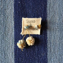 Cotton Daisy Asymmetry Pierce (Light Indigo)