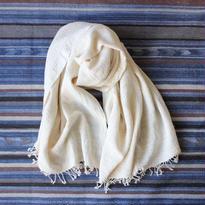 Organic Khadi Basket Bath Towel (Ivory)