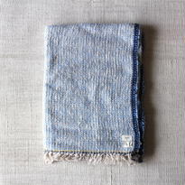 Gara-bou Blanket Stole 90×190cm (Sax)