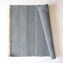 Light Indigo Wool Rug 60x90