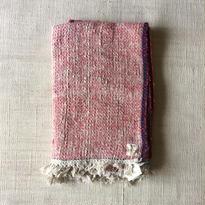 Gara-bou Blanket Stole 90×190cm (Cherry)