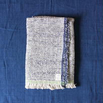 Gara-bou Blanket Stole 90×190cm (Ice Pin Border)