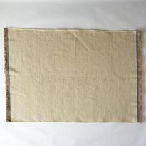 Ivory Indigo Wool Rug 60x90