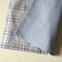 Lungi White Plaid Place Mat #M