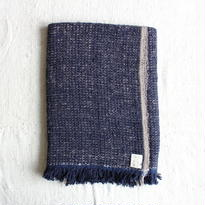 Gara-bou Blanket Stole 90×190cm (Night Ash)