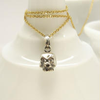 baby skull necklace | dia