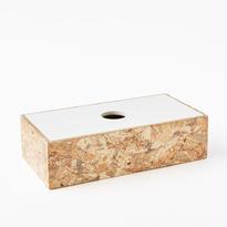 [chii]木片の表情を楽しむティッシュボックス