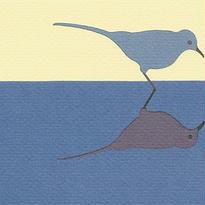 鳥(絵はがき)