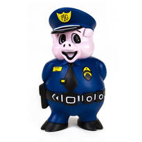 OFFICER DICK DOG TOY