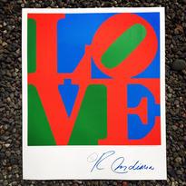 Robert Indiana:Classic Sky Love